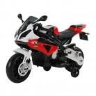 Homcom Coche Correpasillos Niños 3-8 años Moto Eléctrica Infantil Batería 12V