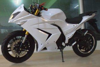 Horizonte coche deportivo 72 v eléctrica motocicleta racing street GT coche batería...