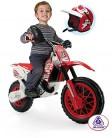 INJUSA – Moto Cross CR a Batería de 6V Recomendada a partir de 3 Años rojo