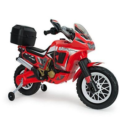 INJUSA – Moto Honda Africa Twin a batería 6V para niños de 3 años