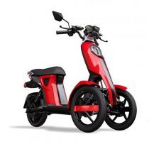 iTango Scooter electrico Innovative Design – Patinete eléctrico con Tres Ruedas rojo