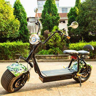 Los adultos scooter Eléctrico Citycoco de 2 ruedas de litio 60 V...