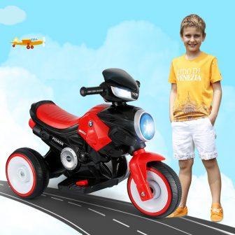 Los nuevos niños de la motocicleta eléctrica paseo en los coches de...