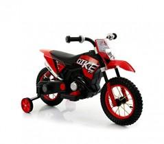 LT876 Motocicleta eléctrica infantil MOTO CROSS BABY ruedas inflables – Rojo