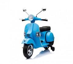 LT887 Moto eléctrica PIAGGIO para niños VESPA azul oscuro