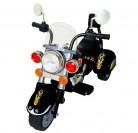 Mondial Toys Moto Eléctrica para Niños con Luces y Sonidos (Negra)
