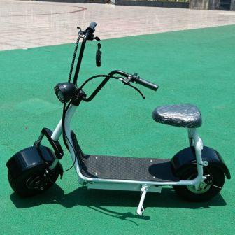 Motocicleta bicicleta eléctrica Citycoco scooter Eléctrico mini motor de la bici 1000...