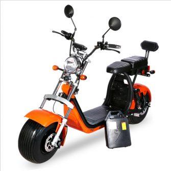 Motocicleta bicicleta eléctrica scooter Eléctrico Citycoco motor 1000 W e bicicleta batería...