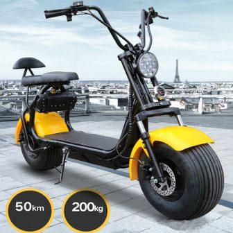 Motocicleta eléctrica 1000 W 60V12A adecuado para terrenos diversos resistencia excelente de...