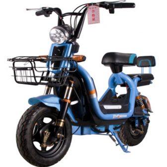 Motocicleta eléctrica 48V20A litio resistencia excelente doble Riding bicicleta de viaje