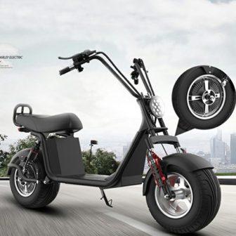Motocicleta eléctrica 60V12A 1000 W Velocidad máxima 50 km/h RangeN35-55km/h tiempo de...