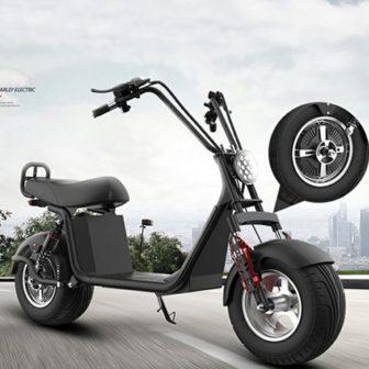 Motocicleta eléctrica 60V12A 1000 W Velocidad máxima 50 km/h RangeN35-55km/h carga tiempo...