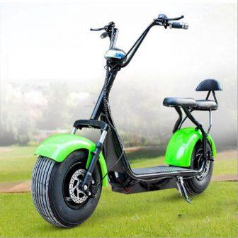 Motocicleta eléctrica adulta Citycoco scooter Eléctrico de la batería de litio de...