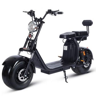 Motocicleta eléctrica de 1500 W 60 V Citycoco doble de la batería...