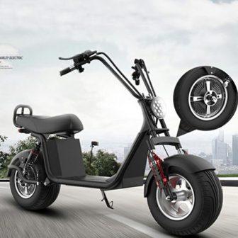 Motocicleta eléctrica de 60V12A 1000 W velocidad máxima de 50 km/h RangeN35-55km/h...