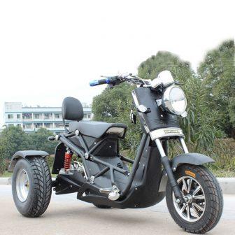 Motocicletas Scooter Eléctrico 3 triciclo rueda Citycoco fresco Popular 72 v 1000...