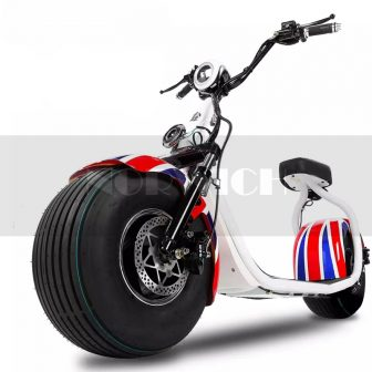 Motocicletas Scooter Eléctrico adulto 1200 W neumático 72 v 12AH tercera velocidad...