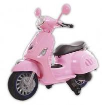 Motoor Kids Moto Eléctrica Infantil Vespa Rosa – Juguetoon
