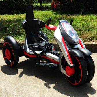 Niños motocicleta eléctrica adecuado para 7-12 años de edad 12V7A seguro y...