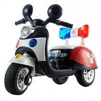 Niños Motocicleta ElÉCtrica con Luz LED Motocross Policia
