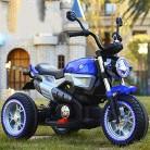 Niños Motocicleta ElÉCtrica con Luz LED azul