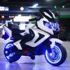 Niños triciclo motocicleta eléctrica 2-8 años grandes hombres y mujeres niños bebé puede sentarse juguete coche