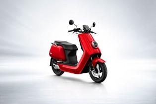 NIU N1S eléctrico Roller S de scooter – Batería de ion de litio Panasonic rojo