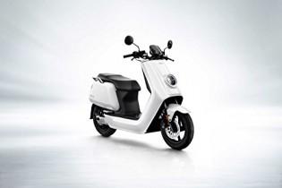 NIU N1S eléctrico Roller S de scooter – Batería de ion de litio Panasonic blanco