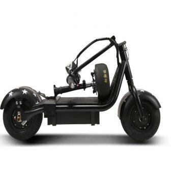 Nueva moto eléctrica plegable pequeña Harley para hombres y mujeres, tipo mini...