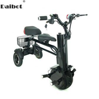 Nueva motocicleta eléctrica adulto tres ruedas Scooters eléctricos único Motor de 450...