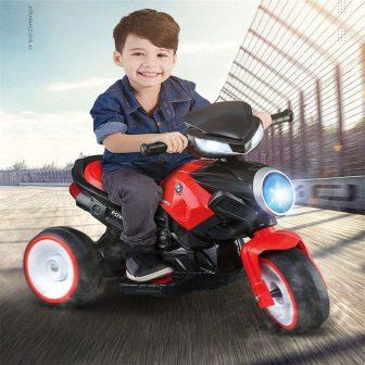 Nueva motocicleta eléctrica para niños paseo en coches coche de juguete puede...