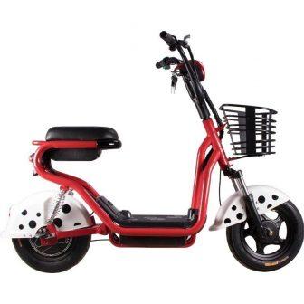 Nueva motocicleta eléctrica Scooter de dos ruedas de bicicleta eléctrica de 14...
