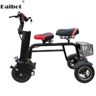 Nueva motocicleta eléctrica Scooter tres ruedas Scooter Eléctrico 450 W 60 V...