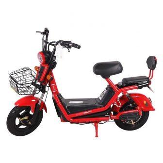 Nuevo rojo coche eléctrico adultos y dos ruedas de bicicletas eléctricas para...