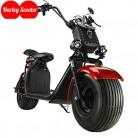 OOBY Motocicleta Eléctrica Harley Scooter para Adultos con Dos Luces Láser