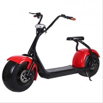 OOBY Q1 Harley Electric Scooter Motocicleta para Adultos 20A Red