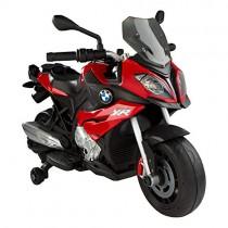 Rastar-85243 Moto eléctrica BMW S1000XR roja de 6V