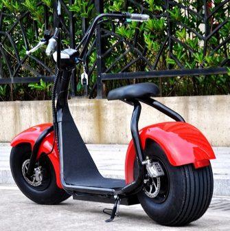 Rueda grande eléctrica de dos asiento Harley Scooter 1000 W 36 V/48...
