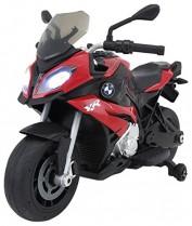 RunRunToys Moto BMW eléctrica 12V con Luces roja