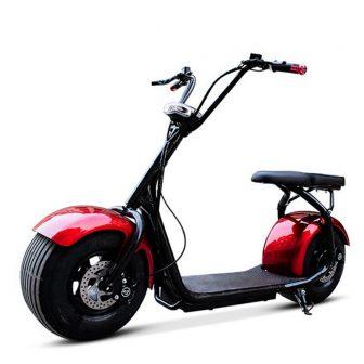 Scooter Eléctrico absorbente de golpes para adultos bicicleta eléctrica doble neumático motocicleta...