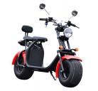 Scooter eléctrico cocoscoot citycoco 1500 W 60 km autonomía, homologado rojo