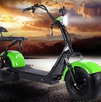 Scooter Eléctrico para adultos Citycoco bicicleta 1500 w 12A/20A litio con audio...