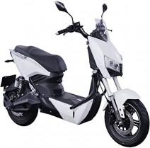 Scooter eléctrico Z3 yadea Francia blanco