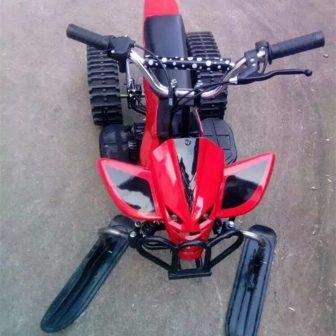 Snowmobiler playa motos de nieve para adultos y niños 12/24 V eléctrica...