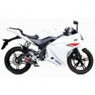YAMAHA YZF R-08 125/14-ESCAPE NUEVO CARBONO SCORPION
