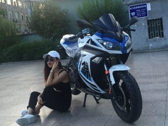 Yk-xz-rz-18-18 bicicleta eléctrica motocicleta eléctrica coche deportivo eléctrico