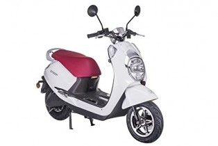 Z-TECH Scooter electrico E-Scooter Scooter Eléctrica 60V 50km/h 20AH Diamond Blanco
